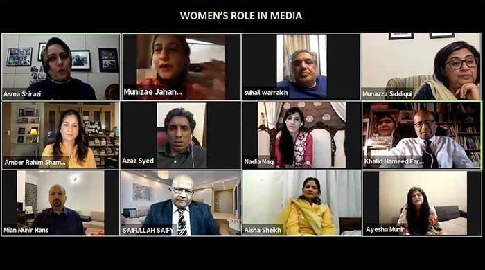 Opportunities for women in media termed need of the hour in journalists' webinar