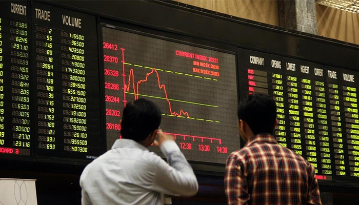 Benchmark KSE-100 index at the Pakistan Stock Exchange — AFP/File