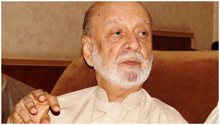Sardar Attaullah Mengal. Photo: Herald