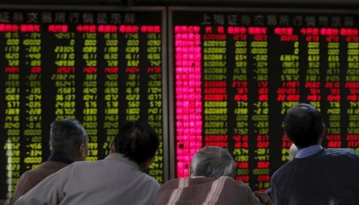 Stock board — Reuters