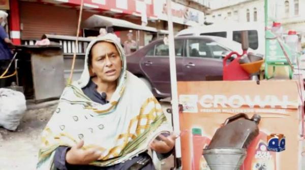 Karachi's resilient Jameela Khatoon changes oil to make ends meet