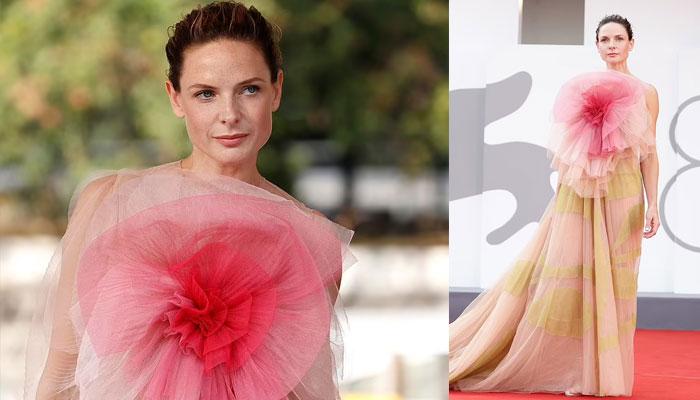 Venice Film Festival 2021: Rebecca Ferguson steals limelight as she graces red carpet in stunning gown