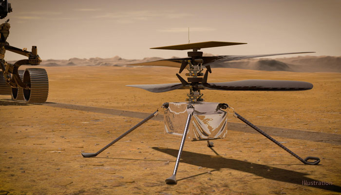 After six months on Mars, NASAs tiny copter is still flying high