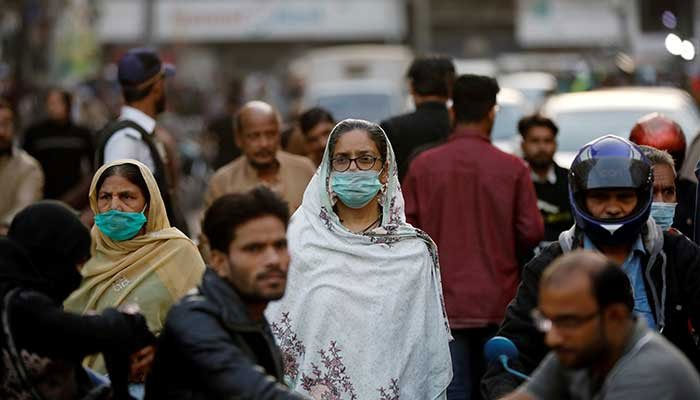 Pakistan reported 3,747 new coronavirus infections in 24 hours. Photo: file