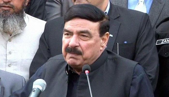 Interior Minister Sheikh Rasheed Ahmed. Photo: file