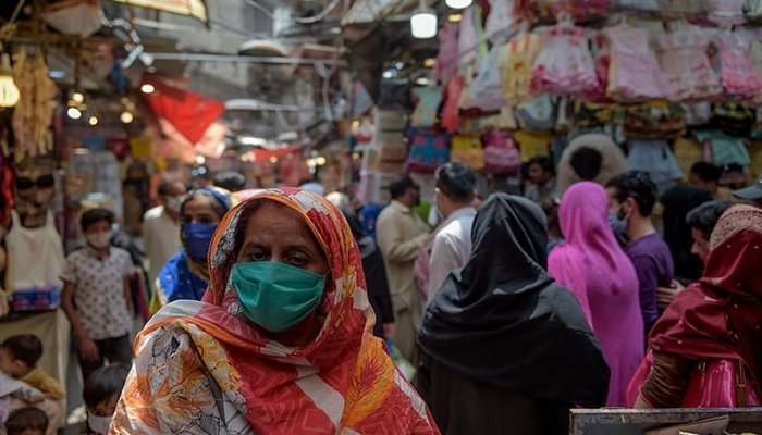 The total number of positive cases since the pandemic started now stands at 1,182,918 in Pakistan. Photo: AFP