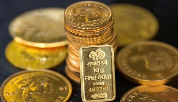 International gold prices fell by $4 per ounce to $1,430 on Monday — Reuters