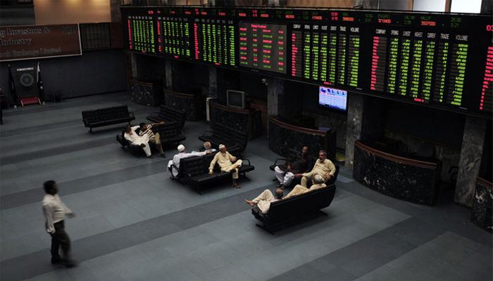 Pakistan Stock Exchange in Karachi — AFP