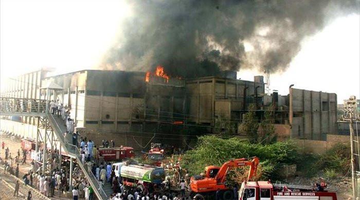 Karachi factory fire: Court cancels interim bail of 3 suspects, orders arrest