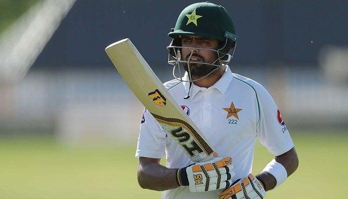 Pakistan Test captain Babar Azam. Photo: File