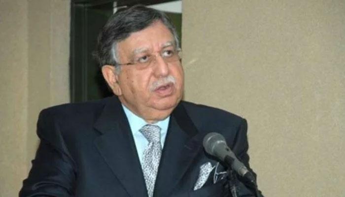 Finance Minister Shaukat Tarin. Photo: file