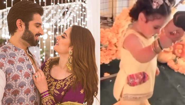 #MinalAhsan: Little Amal wins hearts with her adorable dance performance