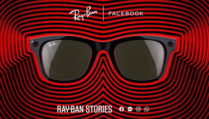 The Ray-Ban Stories shades can take pictures and video upon the wearers voice commands, and the frames can connect wirelessly to Facebooks platform through an app. — AFP