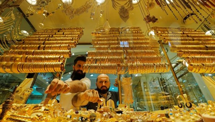 The international gold price rise by $2 per ounce to $1,797 on Friday. — AFP/File