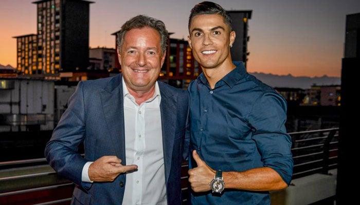 Piers Morgan compares himself to Cristiano Ronaldo