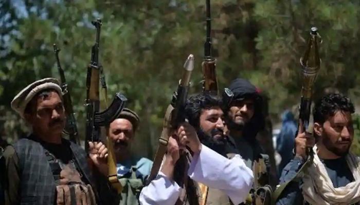Taliban celebrating after taking control of Afghanistan on August 15. — AFP/File