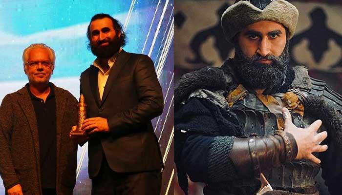 'Ertugrul' star Celal AL's first project as producer receives award
