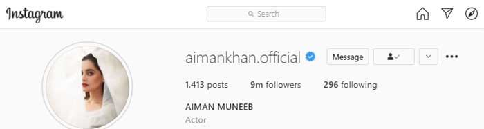 Ayeza Khan reaches 10 million Instagram followers