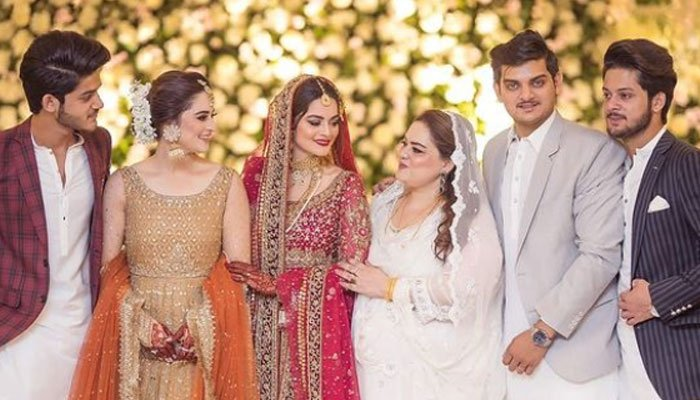 We all felt your presence there: Aiman Khan pens tribute for father after Minal Khans wedding