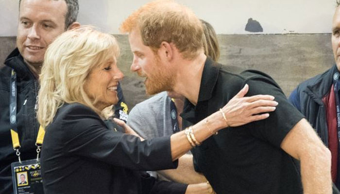 Jill Biden praises Prince Harry as they team up to honour American war heroes