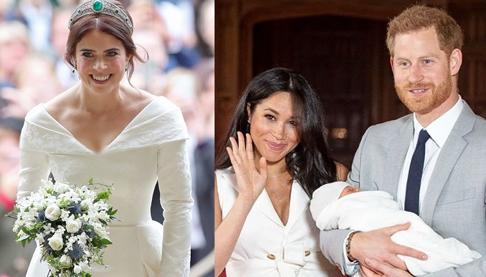 Princess Eugenie to be the first royal to meet Prince Harry and Meghan Markles daughter Lilibet