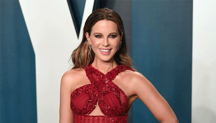 Kate Beckinsale shared a photo of herself hooked to an IV on Instagram