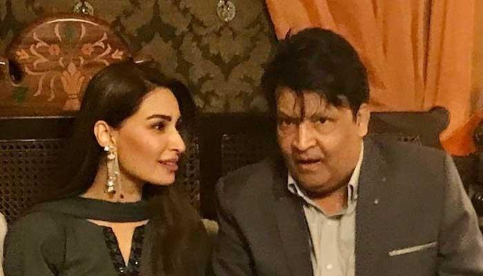 Reema Khan prays for complete recovery for Umer Sharif