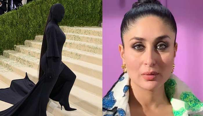 Kareena Kapoor reacts to Kim Kardashian's all-black outfit