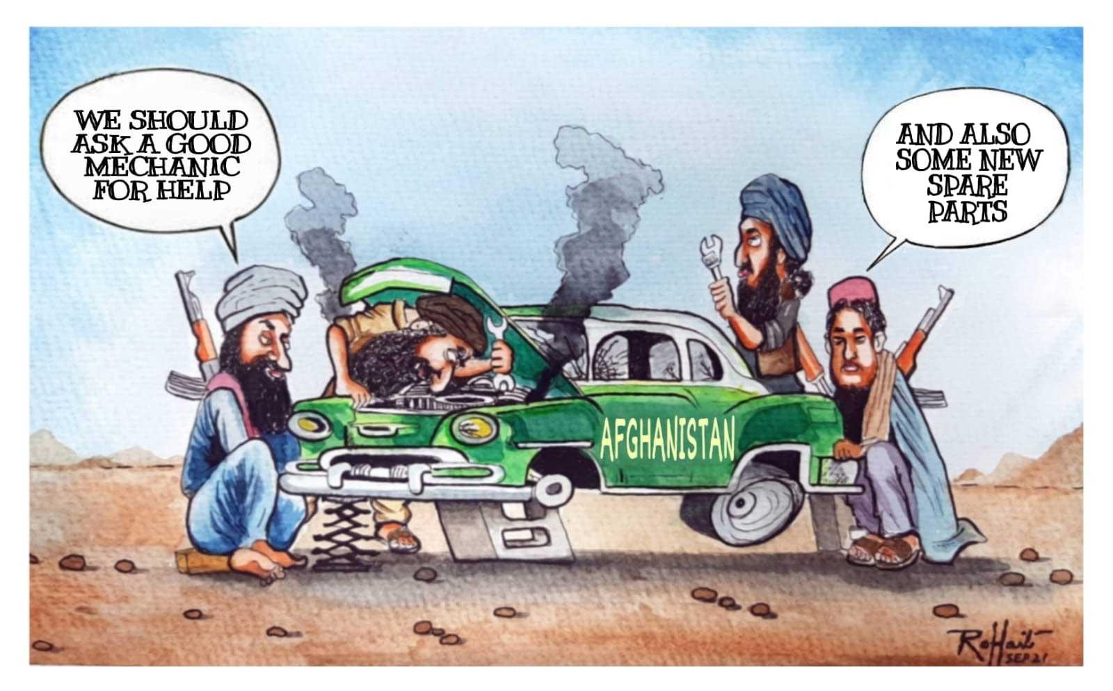 Cartoon by Rohait Bhagwant.