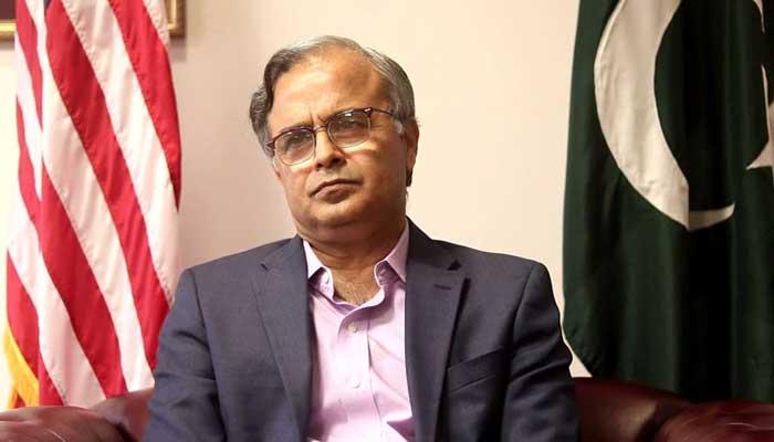 Ambassador of Pakistan to the US Asad Majeed Khan. — APP