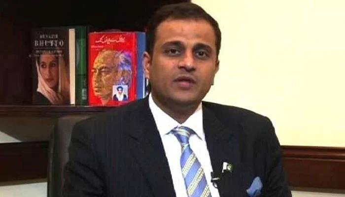 Sindh government spokesperson Murtaza Wahab. — Geo News/File
