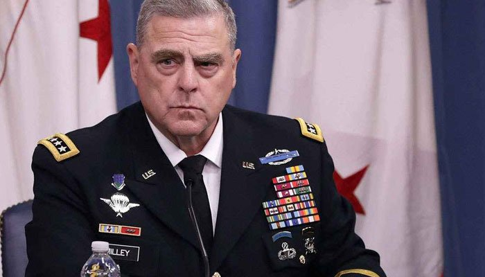 General Mark Milley reassured his Chinese counterpart that the US is not going to attack. File photo