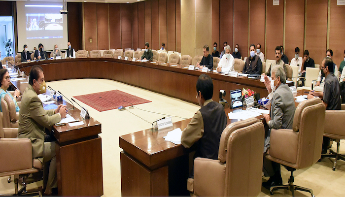 PAC Chairperson Rana Tanveer chairs a committee meeting at Parliament House in September. Photo: Courtesy PAC website