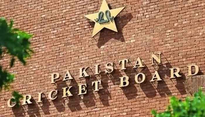 The logo of Pakistan Cricket Board (PCB).
