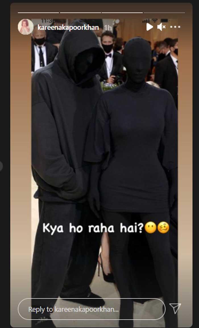 Kim Kardashian shares a cryptic post after Kareena Kapoor's shocking reaction on her all-black look