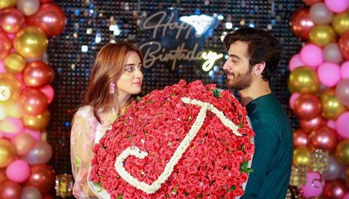 TikToker Jannat Mirza gets best birthday surprise ever from rumored fiancé Umer Butt