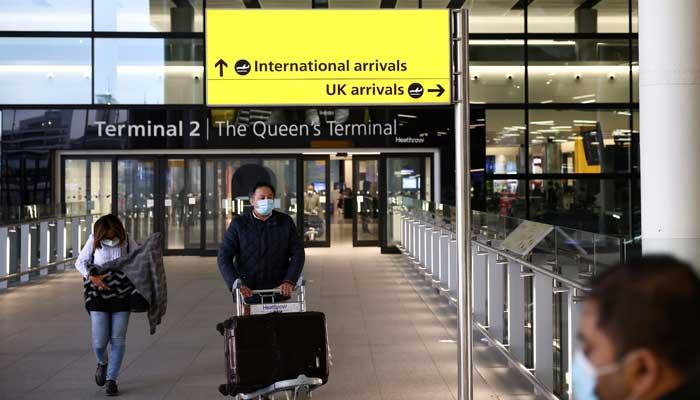 Londons Heathrow Airport. File photo