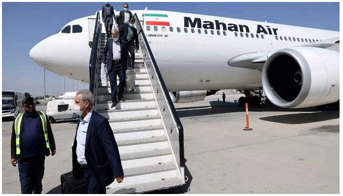 Mahan Air is the second-largest Iranian airline after the state-owned Iran Air. Photo AFP