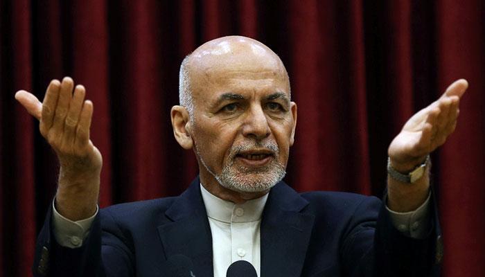 Former Afghan president Ashraf Ghani fled Kabul on August 15, says Zalmay Khalilzad. File photo