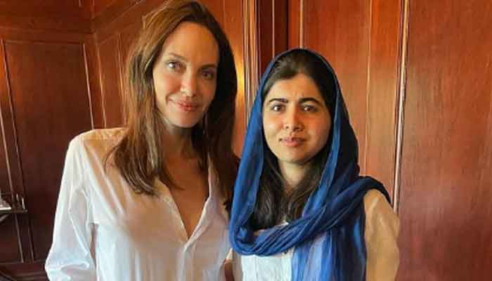 Malala praises Angelina Jolie for writing a book for children