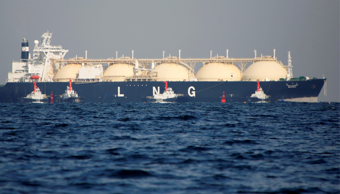 Engro LNG import Terminal begins LNG supply. — Reuters/File