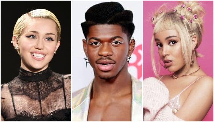 Lil Nas X credits Miley Cyrus, Doja Cat for his burgeoning music career
