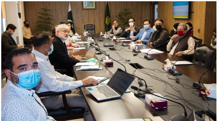 Asad Umar stresses completion of maximum number of HEC projects by 2023