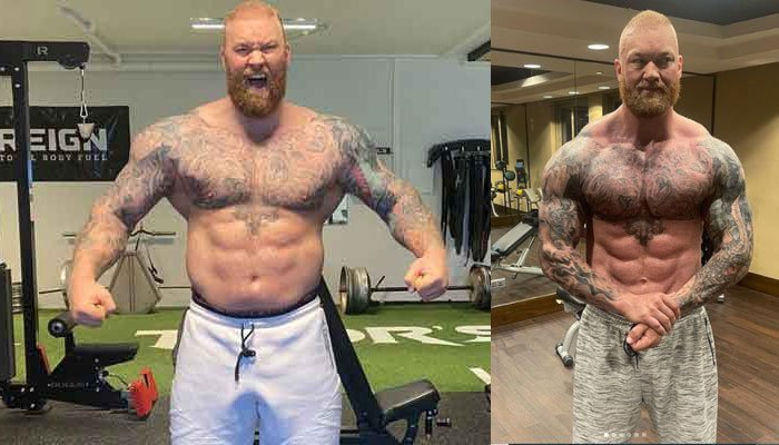 Game Of Thrones The Mountain undergoes massive physical transformation ahead of boxing match