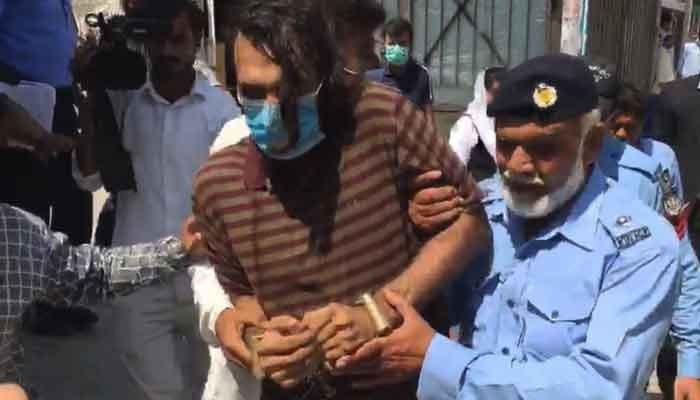 Zahir Jaffer, key suspect in Noor Mukadam murder case. Photo: Geo.tv/ file