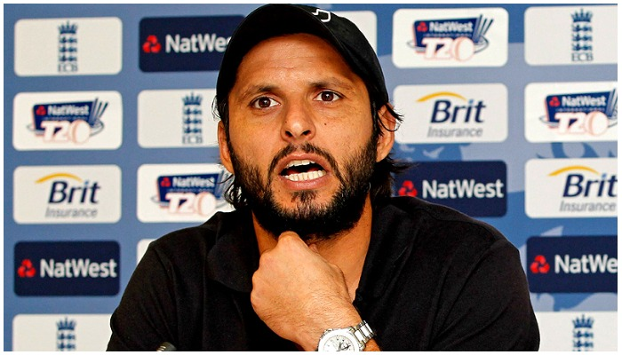 On a hoax threat you have called-off the tour despite all assurances, says Afridi. Photo AFP