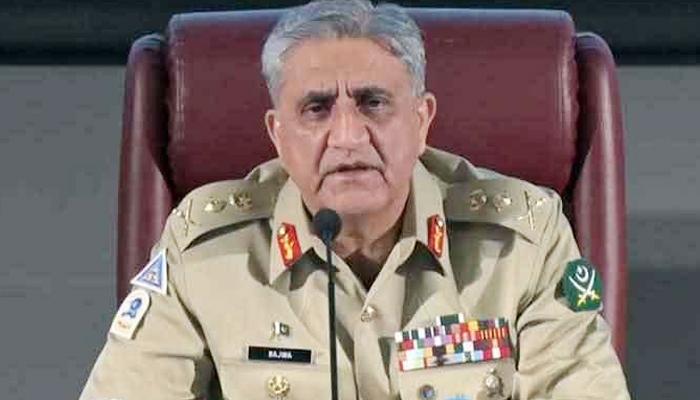 Chief of Army Staff (COAS) General Qamar Javed Bajwa: Photo: ISPR