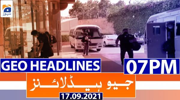 Geo Headlines 07 PM | 17th September 2021