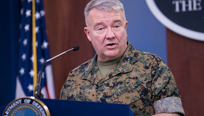 US Central Command commander General Kenneth McKenzie. File photo.