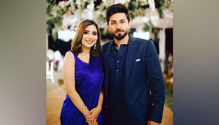 LSA 2021: Saboor Aly, Ali Ansari exude couple goals in adorable Instagram exchange